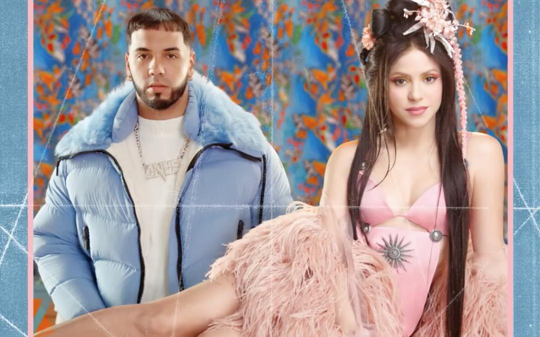Shakira se Une a nuestro artista Anuel en su nuevo sencillo 'Me Gusta'