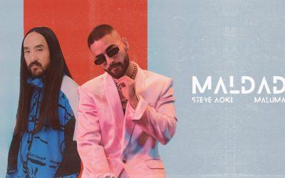 """Nuestro artista Maluma y Steve Aoki estrenan su nueva canción """"Maldad"""""""